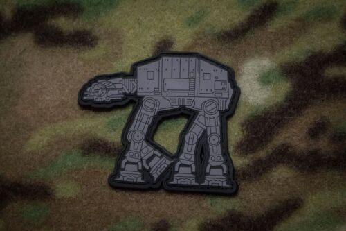 Star Wars Imperial AT-AT Walker PVC Patch MoeGuns Empire Strikes Back Hoth
