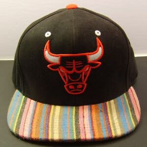 huge selection of 5a7eb 9d68a Image is loading Mitchell-amp-Ness-Chicago-Bulls-XL-Logo-Snapback-