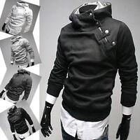 New Men's Stylish Slim Fit Coat  Hoodies Hooded Hoody Jackets 4 Colors S M L XL