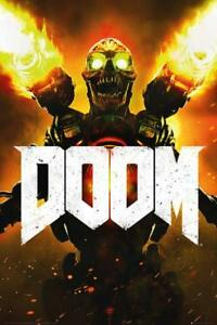 Doom-Key-Art-Maxi-Poster-61cm-x-91-5cm-new-and-sealed