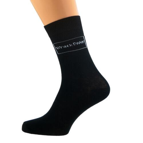 RELITTO Diver Design Immersione Tessuto Di Cotone Rich calzini da Uomo Taglia UK 5-12 X6S028