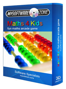 Maths-4-Kids-Fun-Educational-Learning-Arcade-PC-Game-Software-for-Children