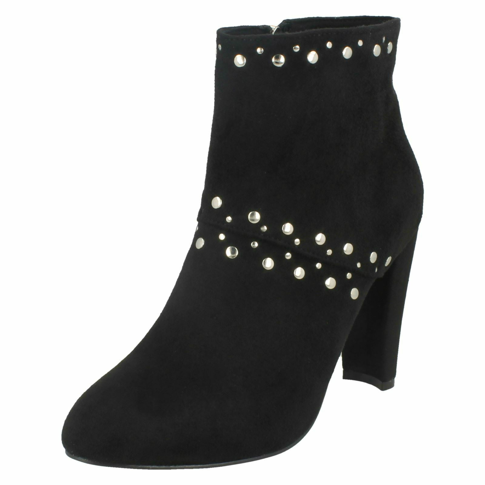 ad7cffd2af1 Ladies Studded Trim Ankle Boots Anne Michelle nqorbq3124-Women's ...
