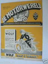 DMW 1947-24,RACES ZANDVOORT,H VINK,FIJMA,POEL,GRAND PRIX BERN,BALZA,HAMERSVELD