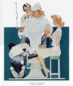Details about Norman Rockwell print: