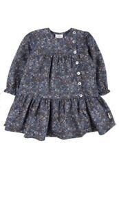 Hust & Claire Kleid Baby Mädchen Blau Blumen Gr. 86 *NEU ...
