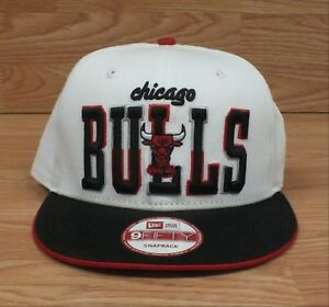 Genuine 9Fifty New Era Chicago Bulls Windy City Red White   Black ... 8a1fe09d44c1