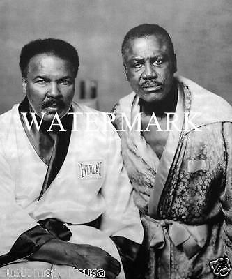 MUHAMMAD ALI - JOE FRAZIER Legends Boxing Glossy 8 x 10 Photo Poster