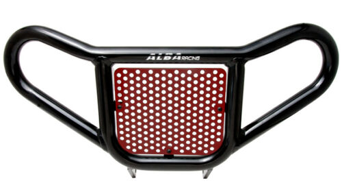Raptor  660 YFM   Red  and Black Screen  Front Bumper   Alba Racing   203 R2 BR