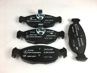 Front Delphi Brake Pads Full Axle Braking Set Jaguar XK 8 4.0 XKR 4.0 4.2 R 4.2