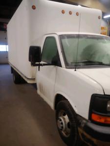 2010 Chevy 3500 cube van