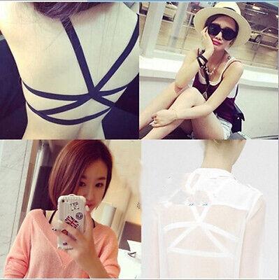 Fashion Women Padded Bra Tank Tops Bustier Bra Vest Crop Top Bralette Blouse New