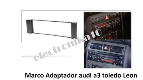 Marco Soporte auto-radio Seat Toledo Leon Audi A-3 sin adaptador de antena