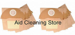 10-x-KARCHER-Vacuum-Cleaner-Filtered-Bag-Hoover-Bags-Dust-A2054-A2024-A2004-IPX4