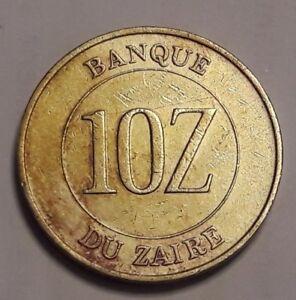 Zaire : 1988 10 Z Gem BU Beautiful Mobutu