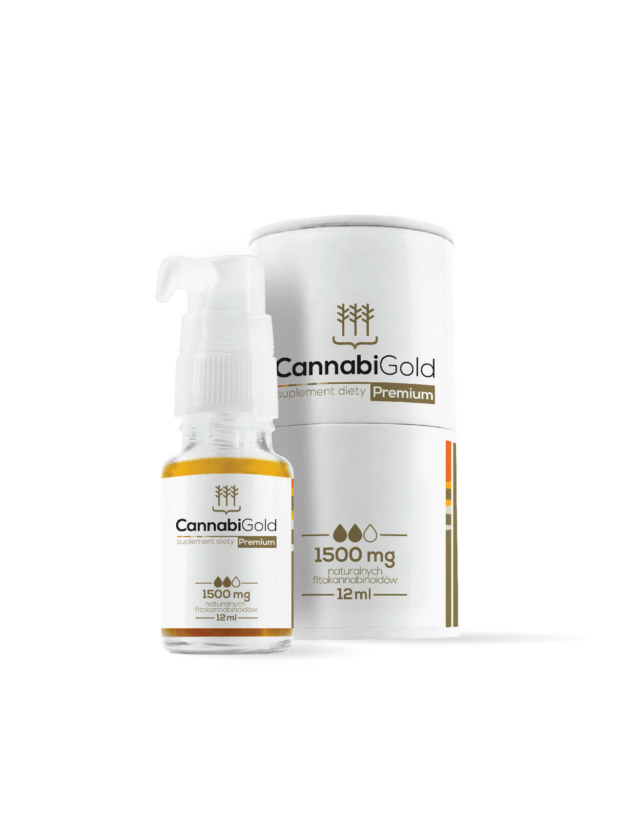 LIMITED OFFER  100% CBD oil dropper CannabiGold Balance 1500 mg
