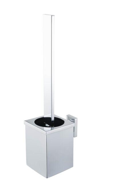 WC Garnitur Bürstenhalter Klorollenhalter verschromt Rollenhalter WC Bad Klo