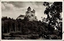 Berwartsein bei ERLENBACH Pfalz Bedarfspost-AK um 1950 nach Behringersdorf gel.