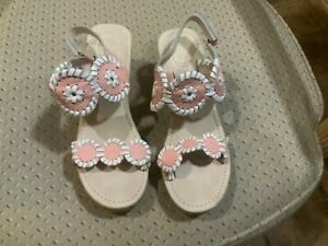 JACK ROGERS Little Miss Luccia Wedge