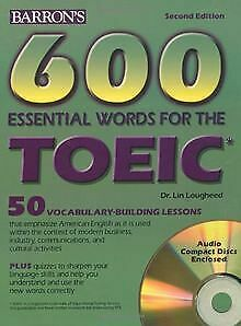 600 Essential Words for the TOEIC. With 2 CDs. (Lernmate...   Buch   Zustand gut