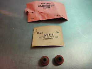 Carter Carb Jets