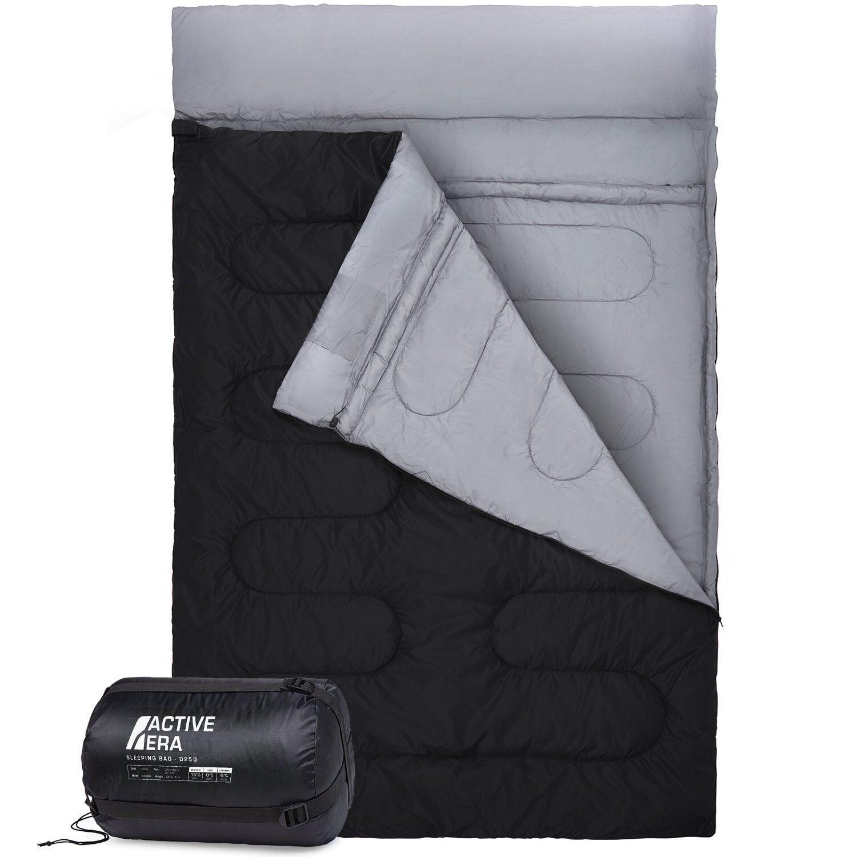 Double Sleeping Bag Congreens 2 Singles Outdoor Sleeping Camping Sport Activity