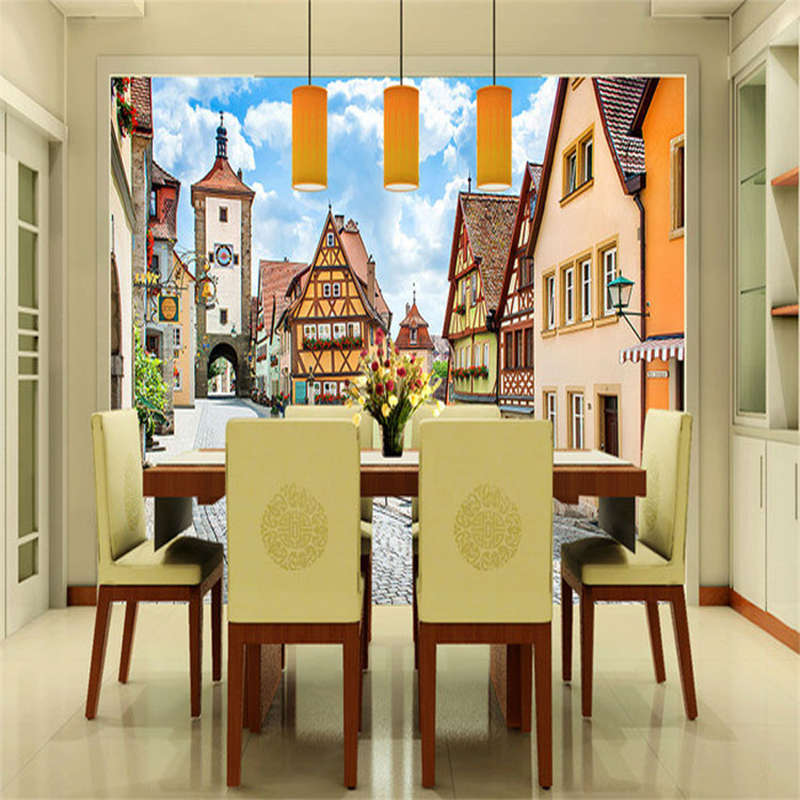 Cozy Town Of Holland 3D Full Wall Mural Photo Wallpaper Printing Home Kids Decor