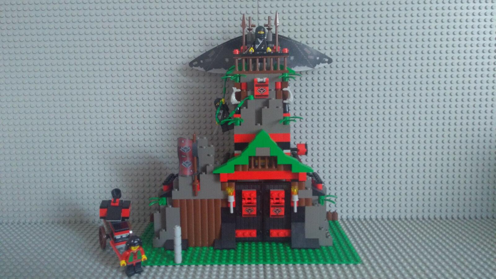Lego 6088 Ninja Robber's Retreat, komplett