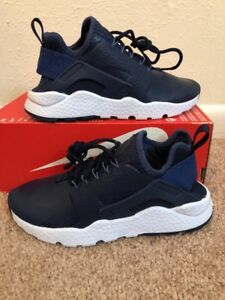 factory authentic e4661 0d879 Image is loading W-NIKE-AIR-HUARACHE-RUN-ULTRA-PRM-SZ-