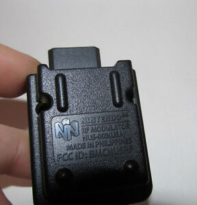 Official-OEM-Nintendo-64-N64-RF-Modulator-NUS-003-Adapter-Good-Shape