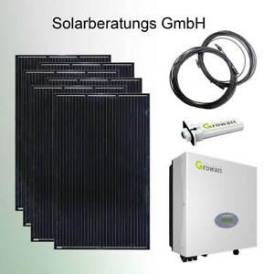 1950 Watt Solaranlage Growatt komplett Solaranlage Solarmodule Plug&Play