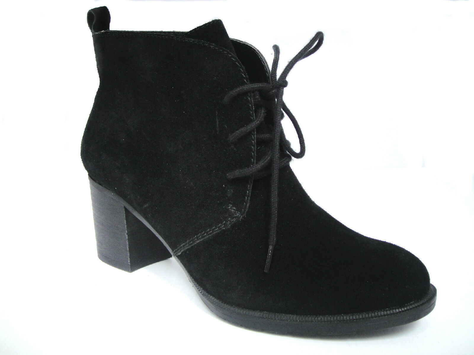 New BareTraps Giselle Suede Ankle botas w  Lace-up Detail mujer bota Talla 9.5