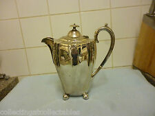 Antique  High Relief Silver Plate Teapot By  Liberty And Co Circa 1875 - 1894