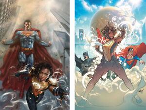 Action-Comics-1015-A-amp-B-Set-Naomi-Batman-Superman-NM-or-Better-9-25-2019