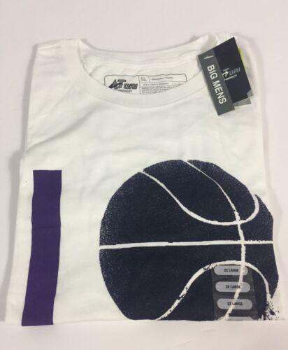 """ATHLETECH Homme /""""I love la/"""" T-shirt Blanc M-2XL Basketball Neuf avec étiquettes"""