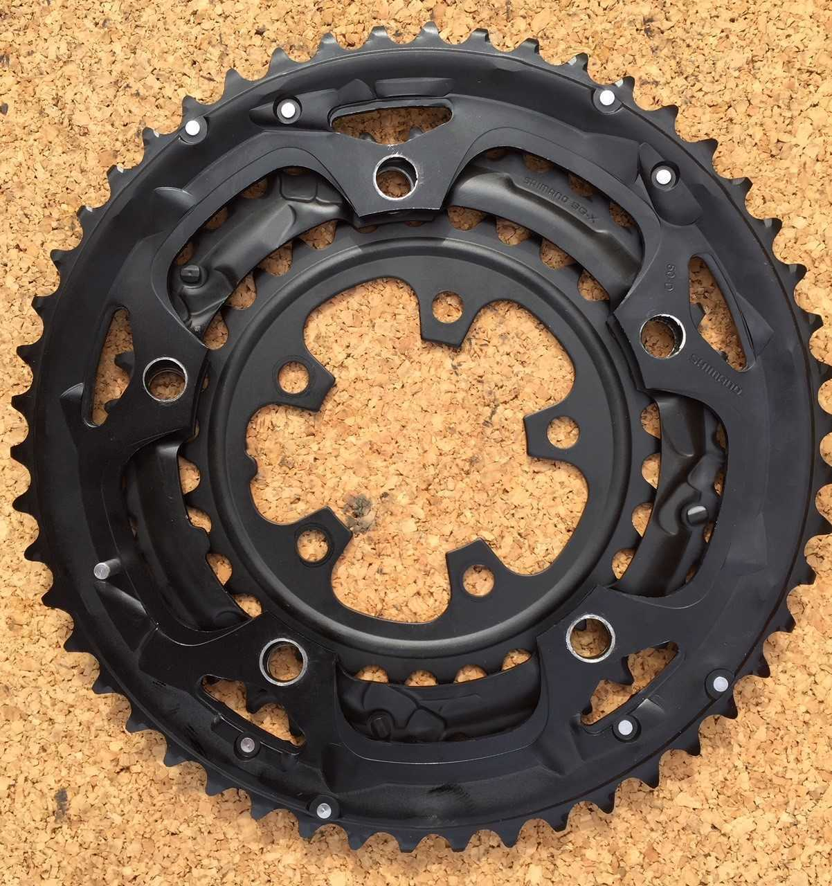 Shimano Sora 3503 Chainrings Triple Speed  30T   39T   50T 5 Bolt 130BCD & 74BCD