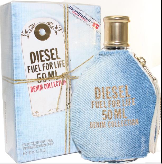 548450a5 Diesel Fuel For Life Denim Collection Diesel Women 1.7 oz Eau De Toilette  Spray/ for sale online
