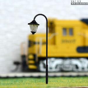 5 x HO OO gauge Model Train Lamps Railway Lamp posts  Led Street Lights #TD55D