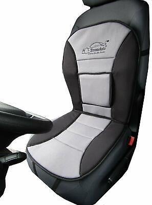 Universal Grey Back Lumbar Support Seat Cushion FORD KA FIESTA FOCUS MONDEO KUGA