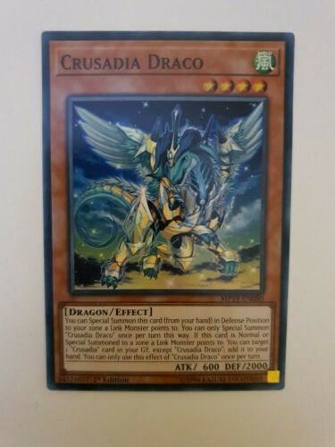 Crusadia Draco x3 YuGiOh MP19-EN080 Super Rare