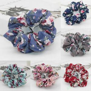 Newest-Elastic-ropes-Flower-Hair-Ties-Scrunchies-Hair-Band-Hairband-Headbands-1X