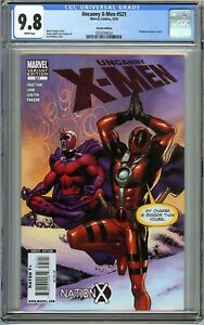 Uncanny-X-Men-521-CGC-9-8-DEADPOOL-Variant-Nation-X-Karl-Moline-Cover-Marvel
