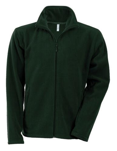 Adulte Casual Winterwear Kariban Falco Avec Fermeture à glissière Micropolaire Veste K911