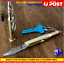 Large-Bullet-Knife-Hot-Camping-Pocket-Knife-keyring-folding-gun-bullet-knife-AU thumbnail 1
