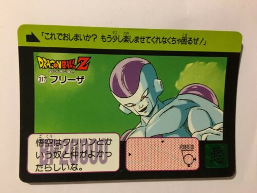 Dragon Ball Z Carddass Hondan PART 8-317