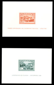 Spain-B108Ab-B108Cd-MNH-Imperf-S-S-CV-1000-00-1938