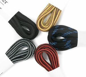 5 Pairs Boot Laces 48 inch Heavy Duty