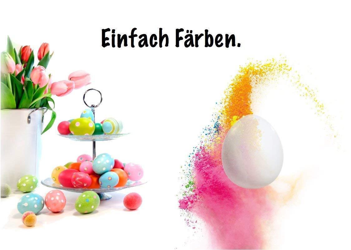Eier 12 Ostereier Ostern Plastikeier MITTEL ca 60X40mm WEIß  85118
