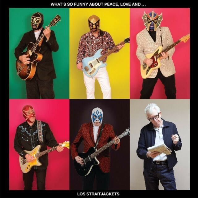 LOS STRAITJACKETS - WHAT'S SO FUNNY ABOUT LOVE   CD NEU