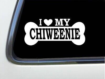"I LOVE MY POMERANIAN 8/"" AS636 car sticker decal ThatLilCabin"